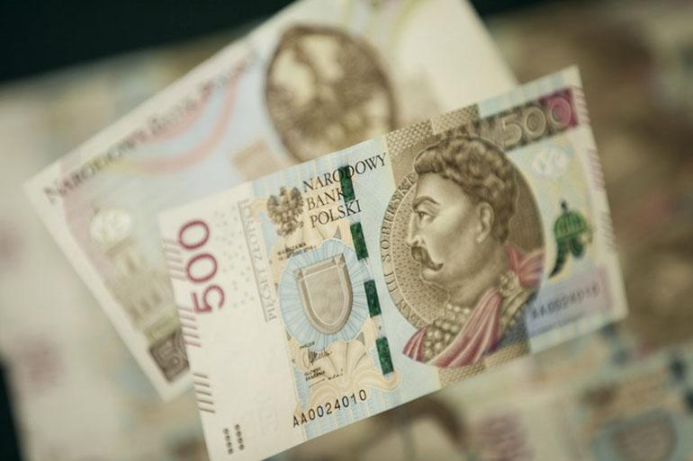 500-złotych banknote obverse, photo: Narodowy Bank Polski