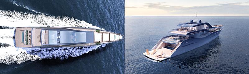 Marlena Ratajska, concept design of the yacht for a fashion designer, ShowBoats Design Awards 2016, photo: press materials