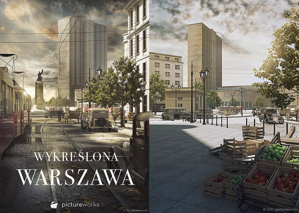 Wykreślona Warszawa, photo: Pictureworks, promo materials