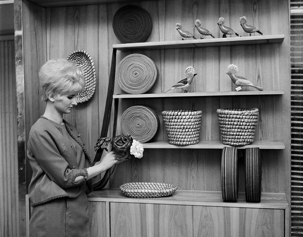 Otwarcie pawilonu Cepeli, 1966, fot. Dionizy Gładysz/PAP