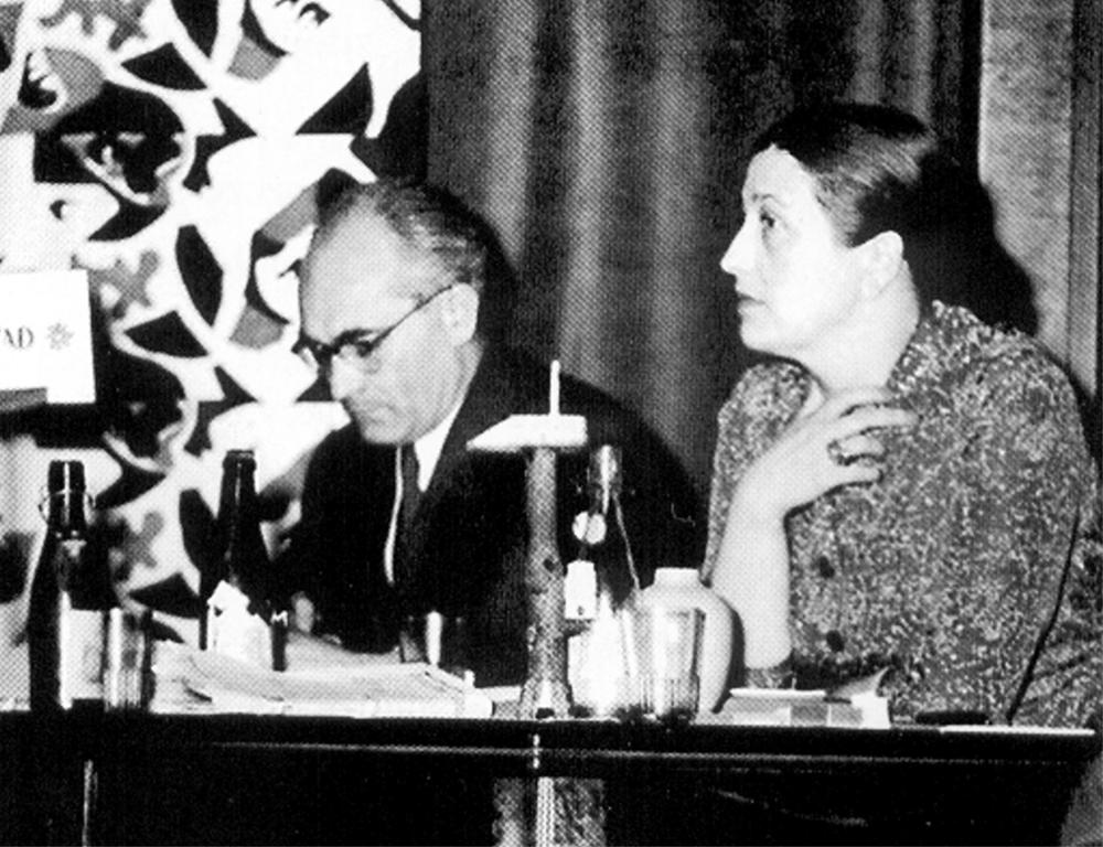 Zofia Szydłowska, the first president of Cepelia, photo: from the Cepelia archives