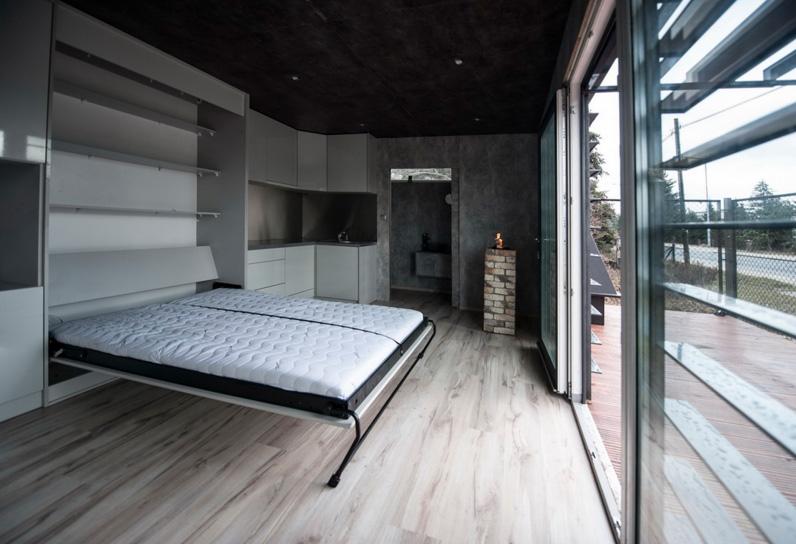 Aleksander Kawiński's modular home, photo: courtesy of the architect