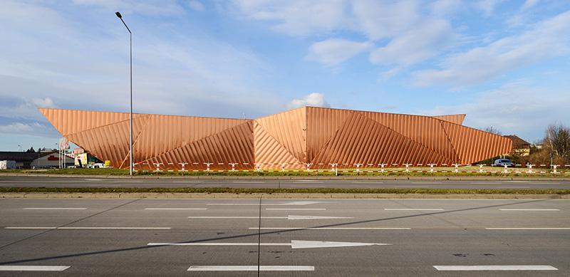 Fire Museum in Żory, 2015, designed by Barbara Grąbczewska and Oskar Grąbczewski, photo: Tomasz Zakrzewski/ archifolio / photo courtesy of the architects/ www.ovo-grabczewscy.pl.