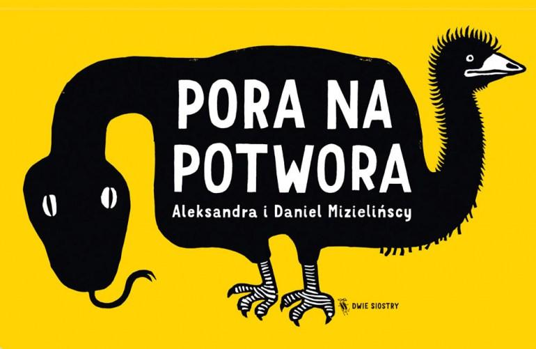 """Aleksandra i Daniel Nizińscy, okładka książki """"Pora na potwora"""", fot. Dwie Siostry"""