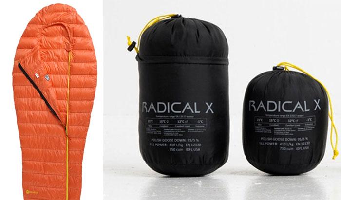 Pajaksport, Radical X sleeping bag, design by Wojciech Kłapcia, Wojciech Pająk, photo: press release