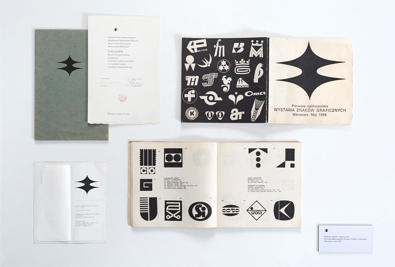 Katalog Pierwszej Ogólnopolskiej Wystawy Znaków Graficznych, 1969, fot. materiały prasowe