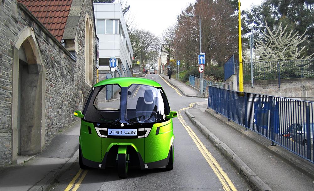 SpinCar, design: Bartosz Borowicz & Mateusz Przybysz, photo: spincar.pl press materials