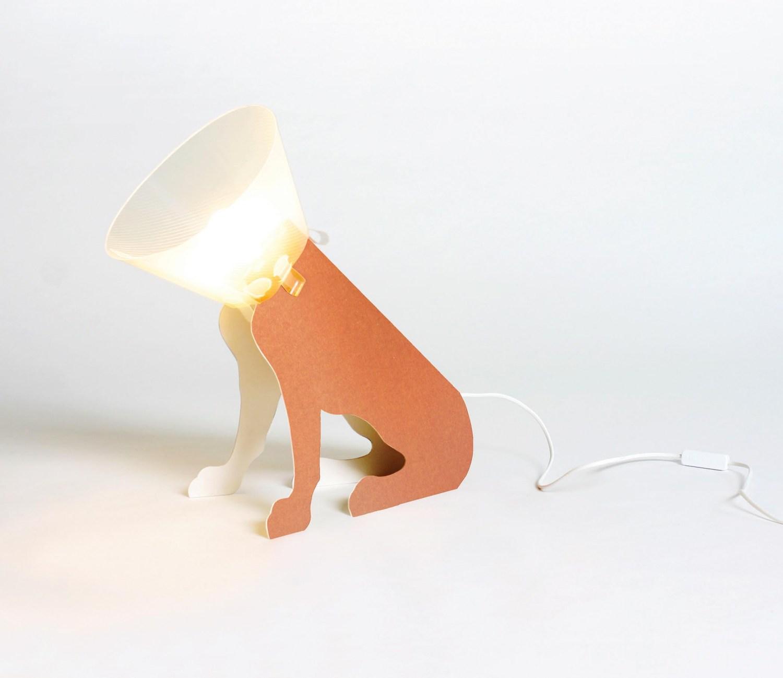 The Pies Salonowy lamp, design: Lapolka, photo: Lapolka