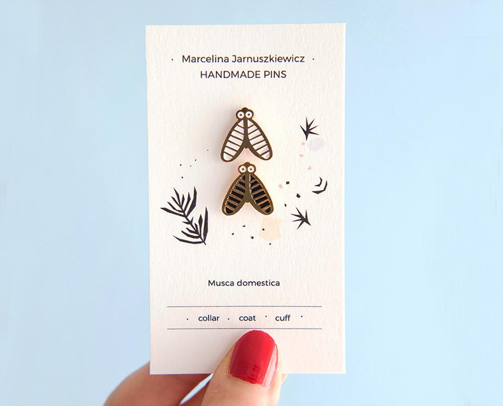 Marcelina Jarnuszkiewicz, The Fly Pin (Musca domestica), photo: http://cloudmine.pl