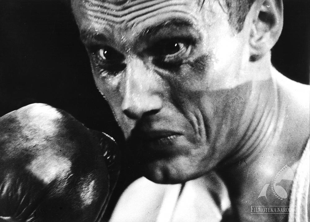 The Boxer, directed by Julian Dziedzina, 1966. Pictured: Daniel Olbrychski, photo: Janusz Zachwajewski/Studio Filmowe Kadr/Filmoteka Narodowa/http://fototeka.fn.org.pl/en.html