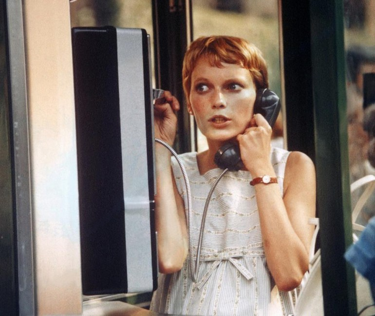 Mia Farrow (Rosemary Woodhause), Rosemary's Baby, dir. by Roman Polański, 1968, photo: Photononstop / East News