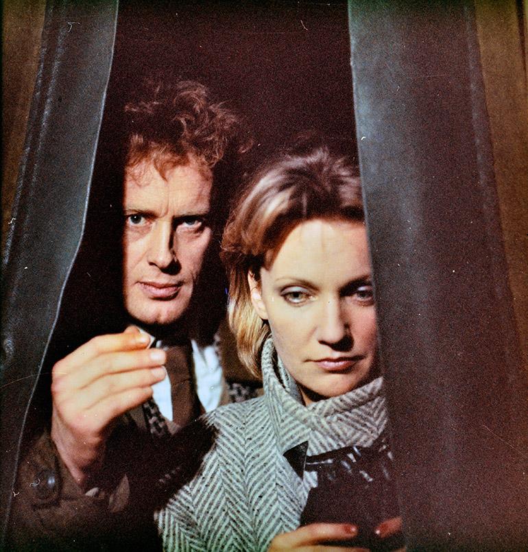 """Daniel Olbrychski i Anna Pakulnis w """"Dekalogu"""" Krzysztofa Kieślowskiego, 1988, fot. archiwum filmu / Forum"""