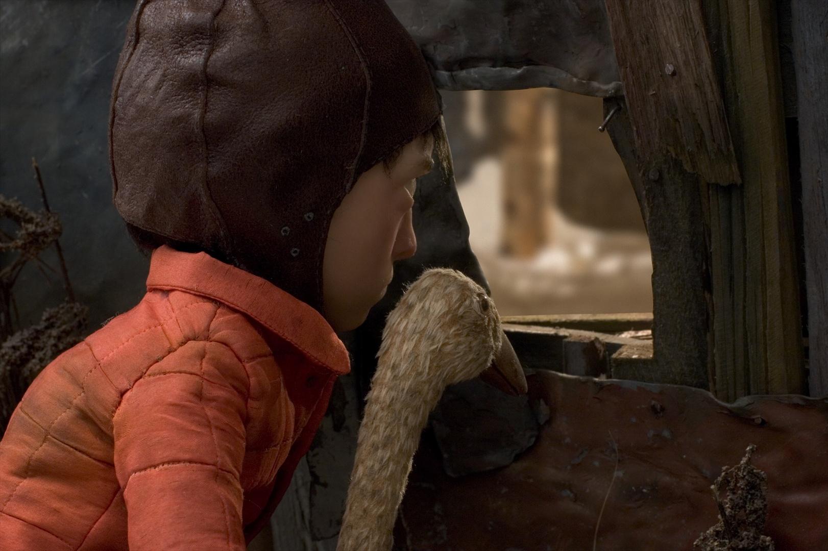 """Kadr z filmu """"Piotruś i Wilk"""" Suzie Templeton, fot. Se-ma-for."""