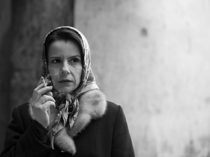 The Stalinist prosecutor Wanda; still from Ida