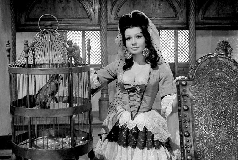 Elżbieta Czyżewska as Frasquetta in The Saragossa Manuscript (1964), photo: Polfilm / East News