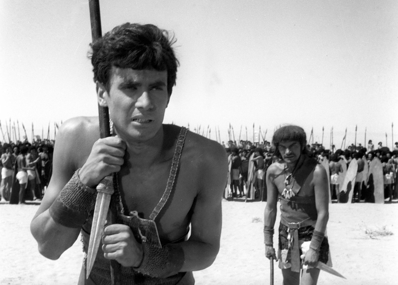 Still from the film Pharaoh, directed by Jerzy Kawalerowicz.  Pictured: Jerzy Zelnik (in the foreground); Photo: Polfilm/East News