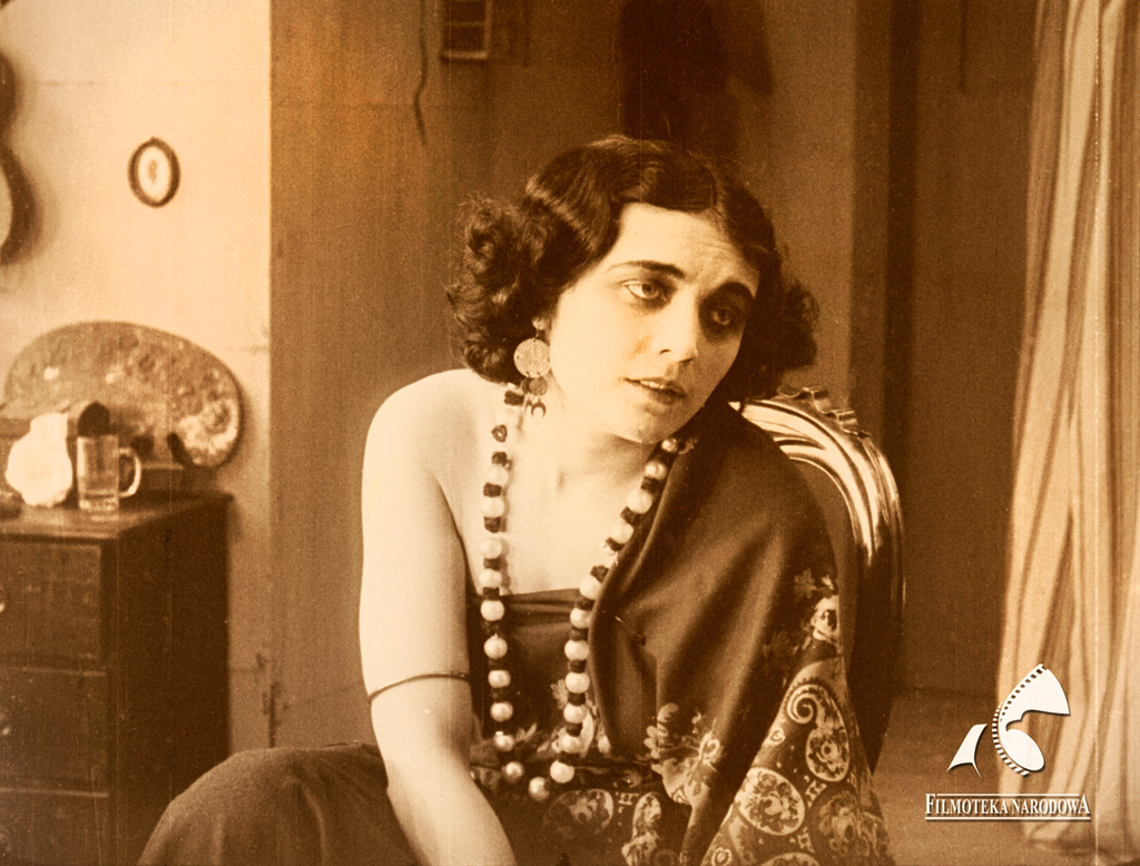 Pola Negri in Mania. Mania: The Story of a Cigarette Girl, dir. Eugen Illés, 1918, photo source: Filmoteka Narodowa/www.fototeka.fn.org.pl