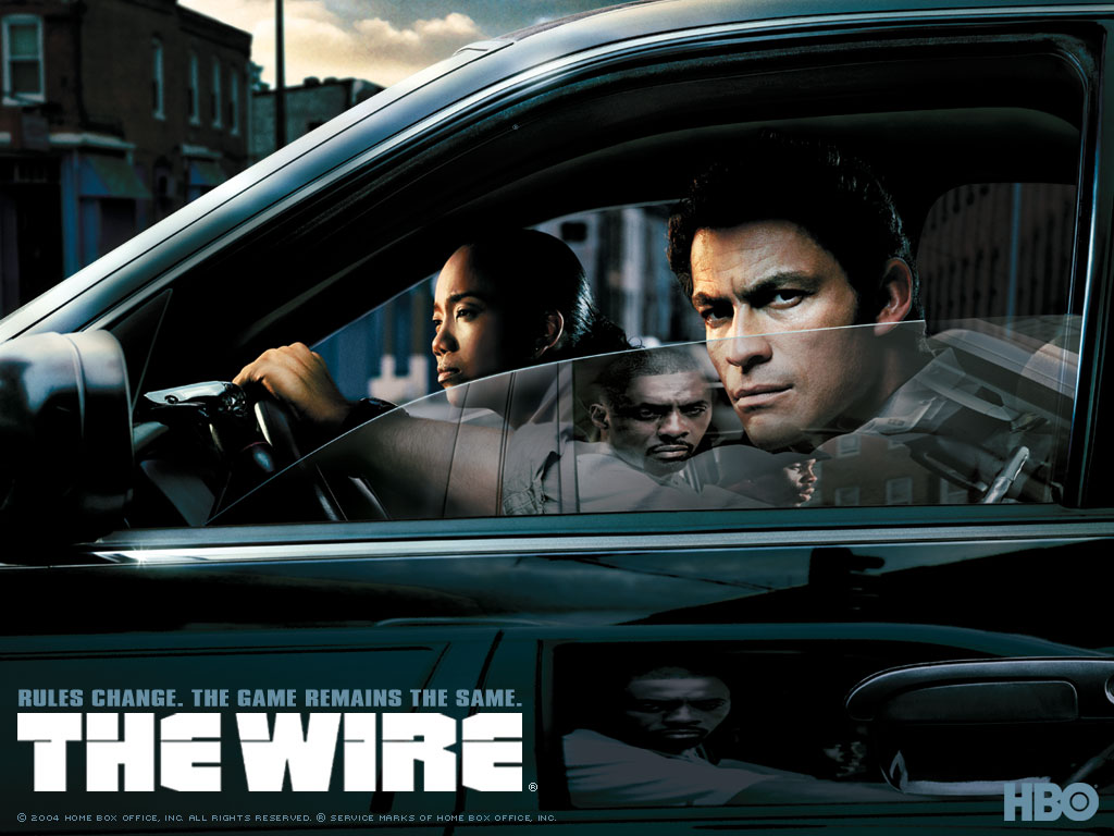 "Plakat ""The Wire"""