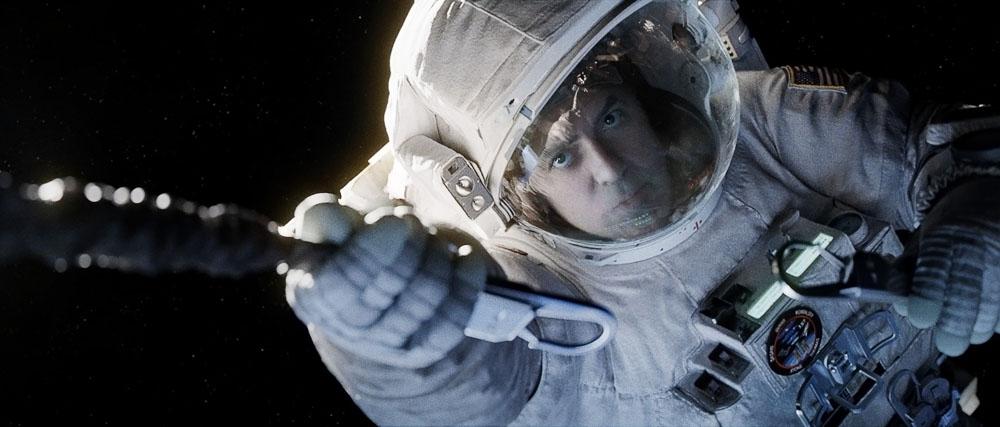 "George Clooney in ""Gravity"", photo: Warner Bros. Entertainment Polska Sp. z o. o."