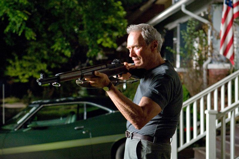 "Clint Eastwood as Walt Kowalski in ""Gran Torino"", photo: Warner Bros. Entertainment Polska Sp. z o. o."