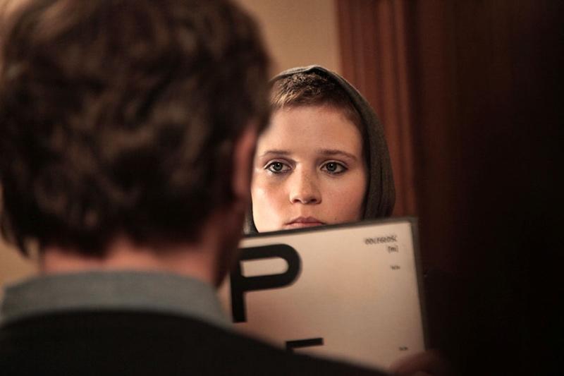 """Eliza Rycembel w filmie """"Carte Blanche"""" w reżyserii Jacka Lusińskiego, fot. Łukasz Borkowski"""