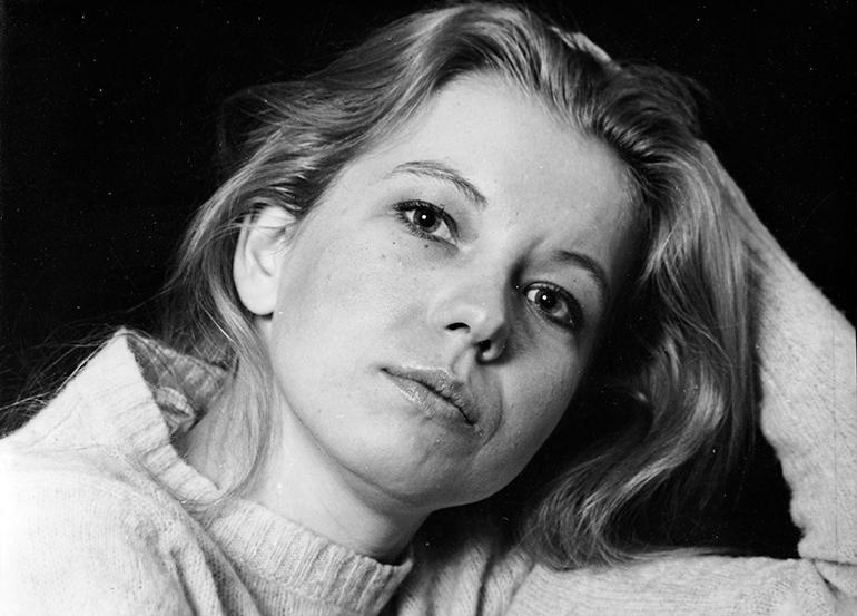 Małgorzata Zajączkowska in the 80s, photo by Jerzy Płoński / Forum