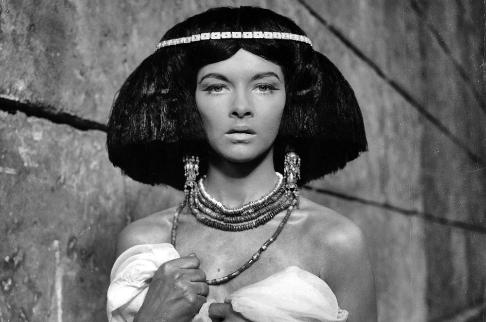 "Barbara Brylksa in the photo from the screen test for ""Pharaoh"" directed by Jerzegy Kawalerowicz, 1965"