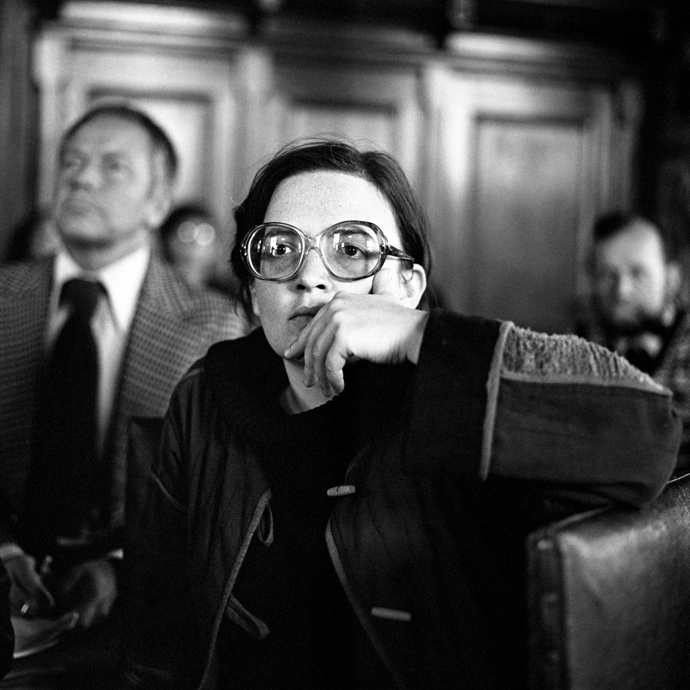 Agnieszka Holland at the 6th Gdańsk Film Festival, 1979, photo: Jerzy Kośnik / Forum