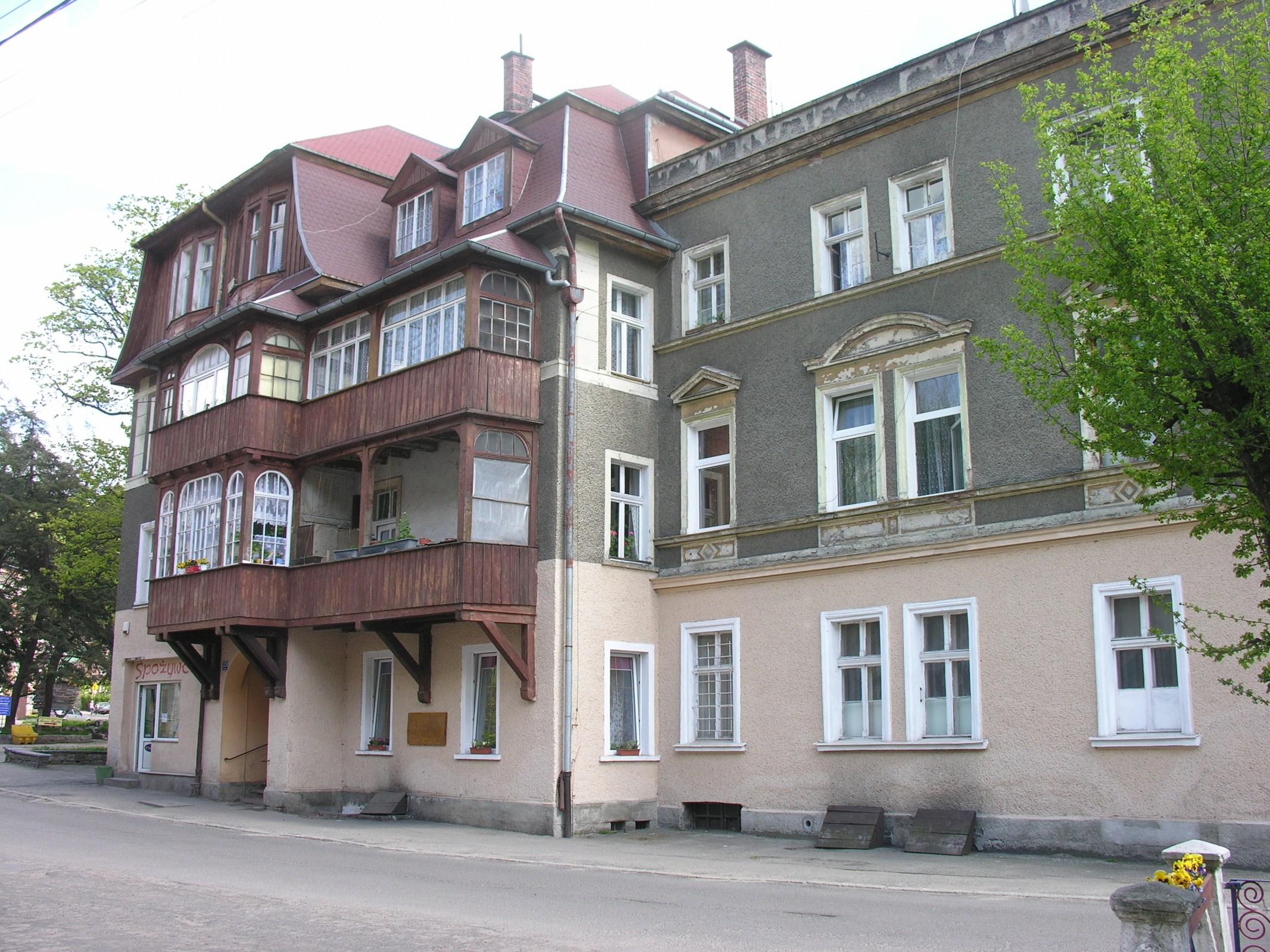 The Kieślowski family house in  Sokołowsko, photo: Wikipedia