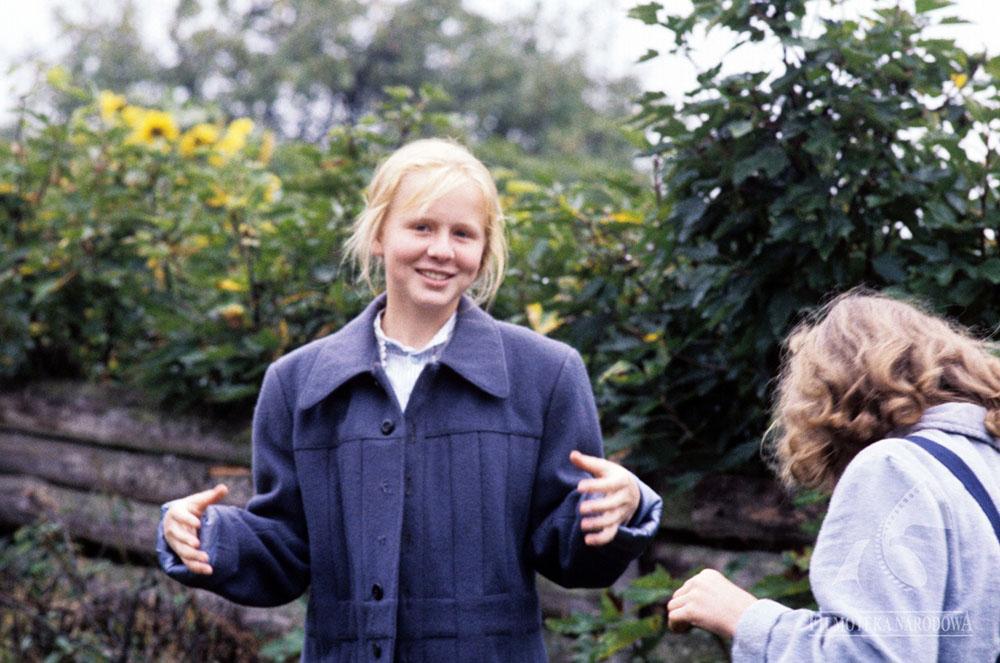 "Kadr z filmu ""Janka"", reżyseria: Janusz Łęski, 1989. Na zdjęciu: Agnieszka Krukówna, fot. Roman Sumik /Filmoteka Narodowa/www.fototeka.fn.org.pl"