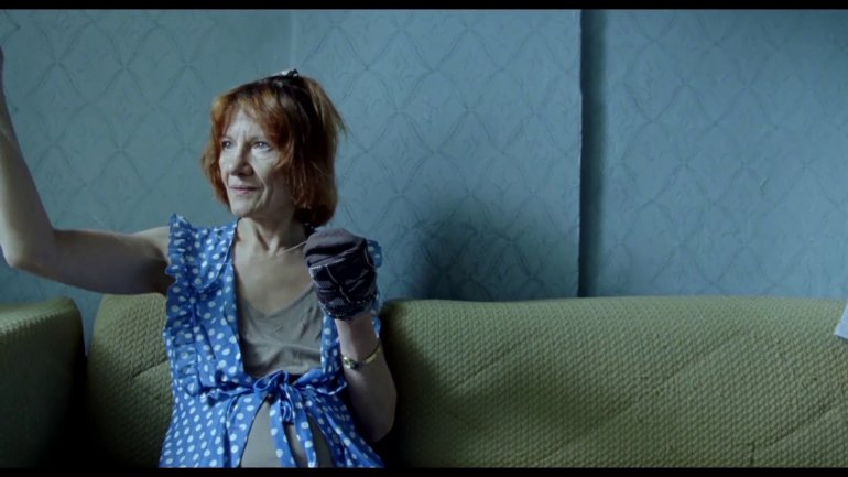 Still from Killing Auntie; directed by Mateusz Głowacki, photo by MiF