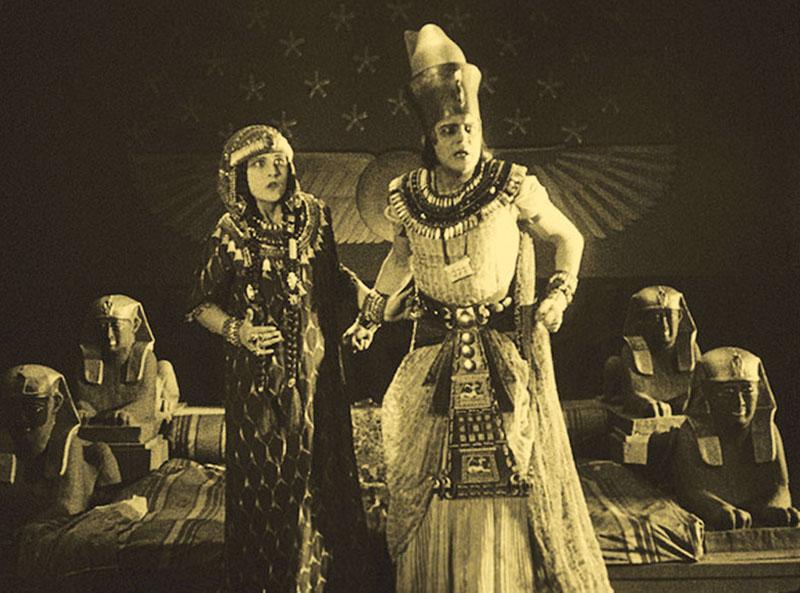 Still from the film The Loves of Pharaoh (Ernst Lubitsch), photo: Festival's press materials