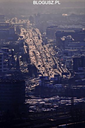 Warsaw from the roof tops, photo by Blogusz / www.blogusz.pl