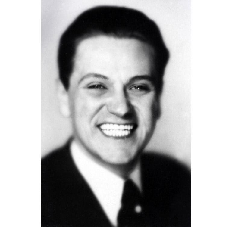 Eugeniusz Bodo, 1931, fot. Benedykt Jerzy Dorys, zbiory Biblioteki Narodowej, www.polona.pl