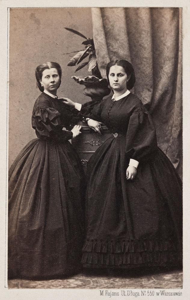 Portret Ludwiki i Anny Halpert, 1862. Zbiory: Muzeum Narodowe w Warszawie