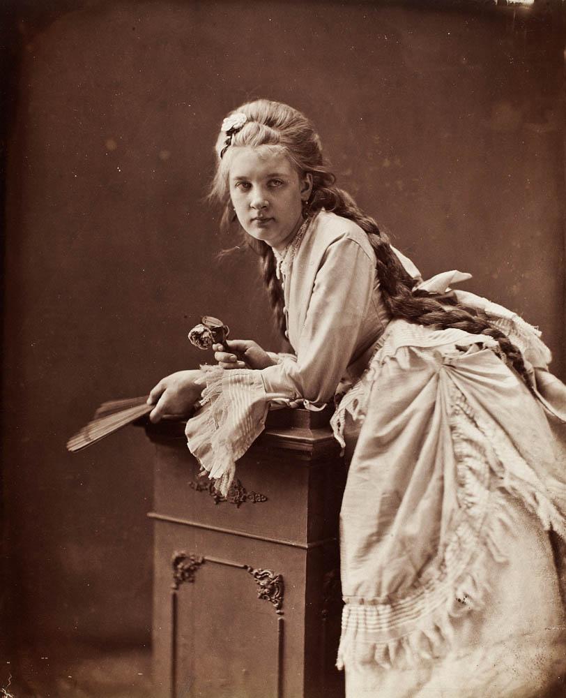 Portret kobiety, ok. 1875. Zbiory: Muzeum Narodowe w Warszawie.