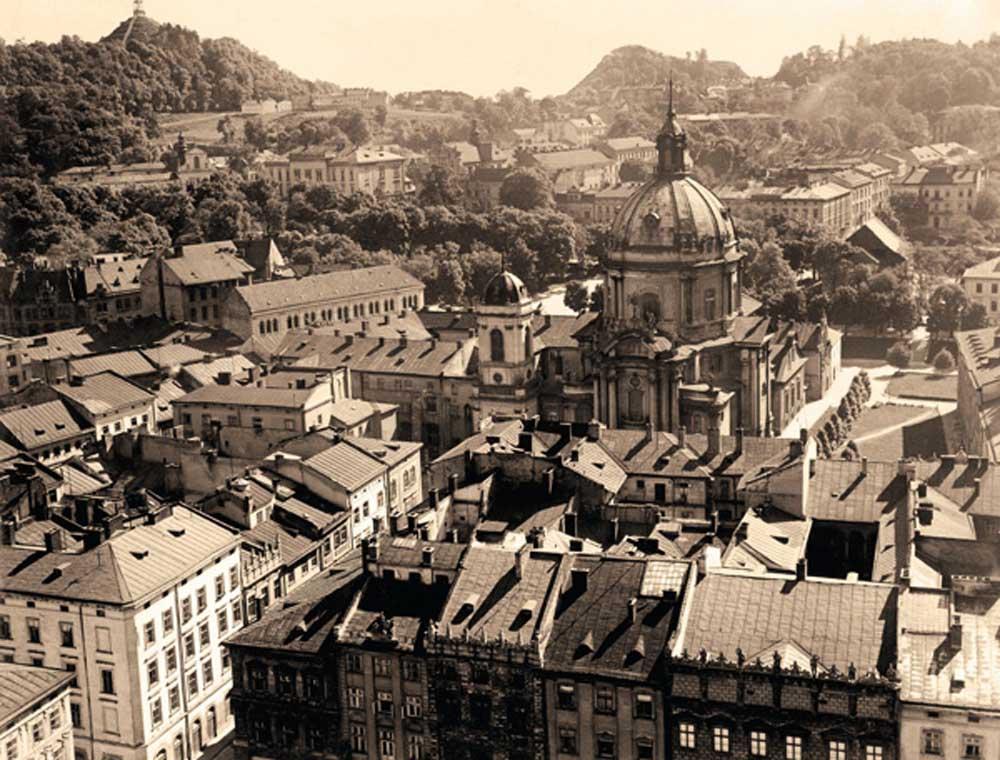 "Panorama pre-war Lviv. photo book Zanna Słoniowskiej , "" pre-war Lviv . The most beautiful photos "" photo . RM publishing house , Warsaw 2013"