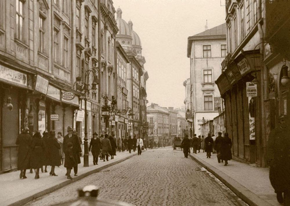 Ulica Krakowska, autor nieznany