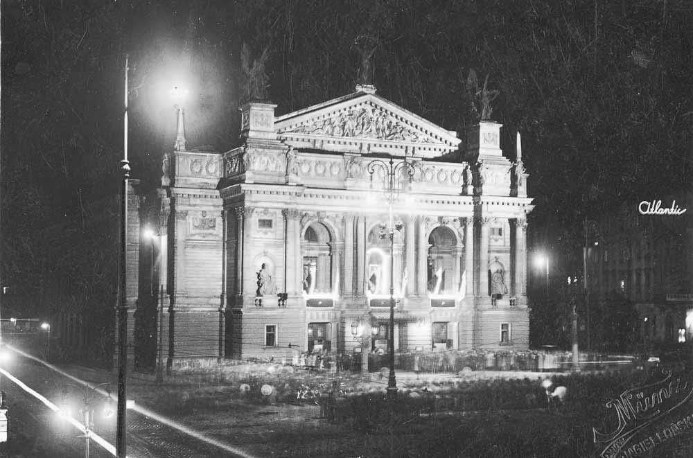 Teatr Wielki, autor nieznany