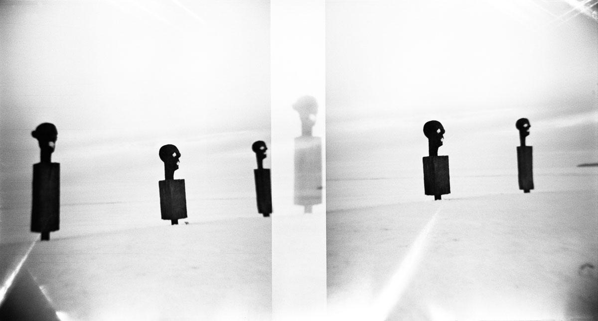 """Fotografia Piotra Zbierskiego z książki """"Push the sky away"""", materiały promocyjne"""
