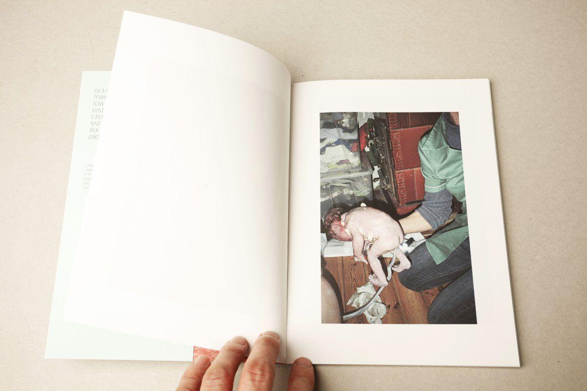 Krzysztof Solarewicz's book Poród (Labour), photo: courtesy of the author