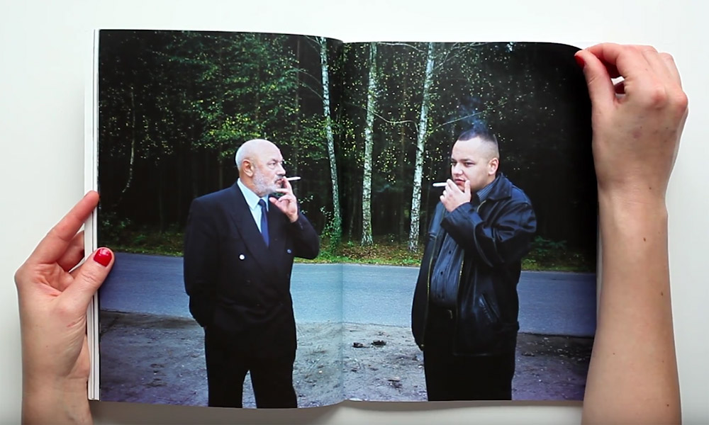 An image from Łukasz Rusznica's book The Most Important I Do Not Tell You At All , 2011, photo: courtesy of the artist