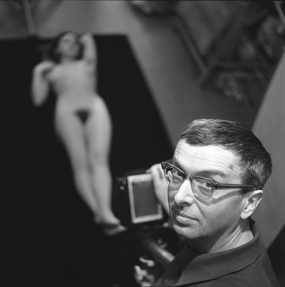 Zbigniew Dłubak, 1974, fot. Irena Jarosińska / Forum