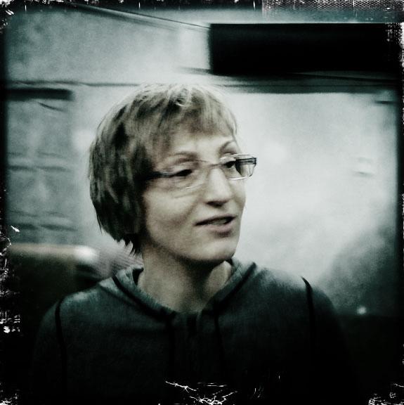 Agnieszka Rayss photoraphed by Adam Pańczuk, courtesy of Agnieszka Rayss