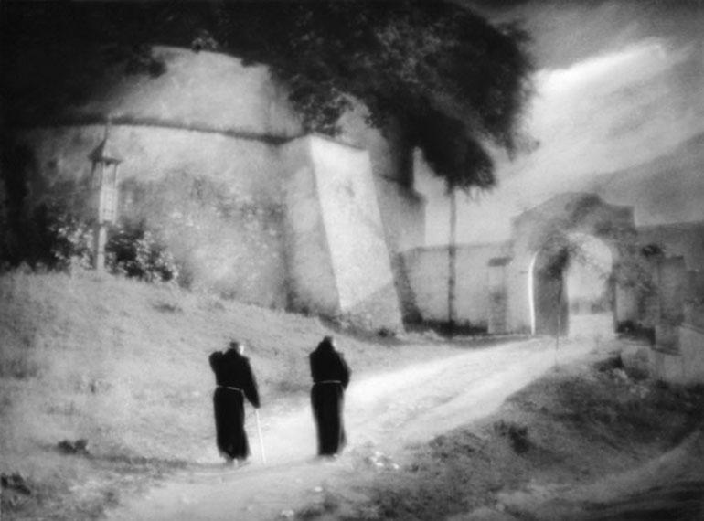 """Tadeusz Wański, """"Anioł Pański (Ave Maria)"""", lata 30 - te XX w., fot. kolekcja Mariusza Kowalskiego"""
