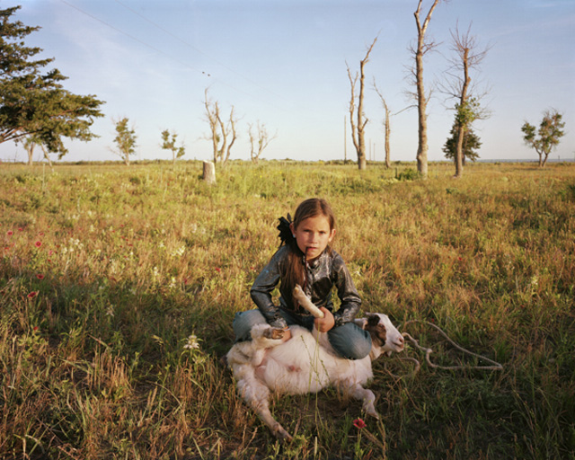 "Ilona Szwarc, photography from the ""Rodeo Girl"" series"