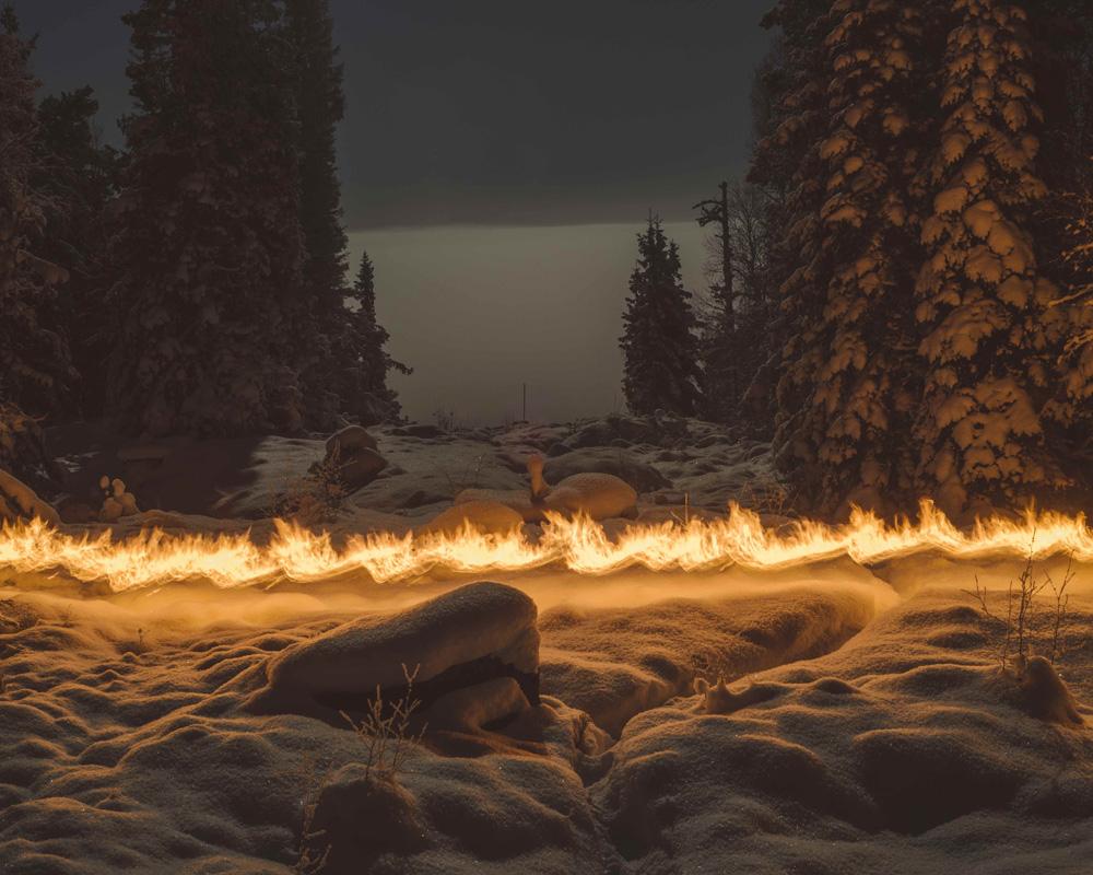 Terje Abusdal, from the series Slash & Burn, 2016, photo: Kraków Photomonth promotional materials
