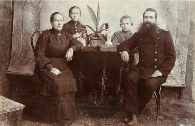 The memory of bezhenstvo is still vivid in the Sidorczuk family , photo from the collection of Olga Kozak, photo: Albom.pl