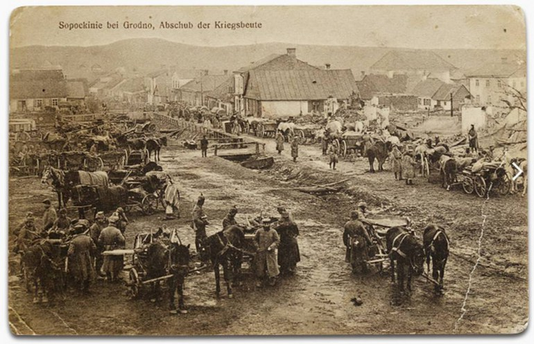 Postcard from Sopotskin, from the collection of Tadeusz Łukuć, photo: Albom.pl