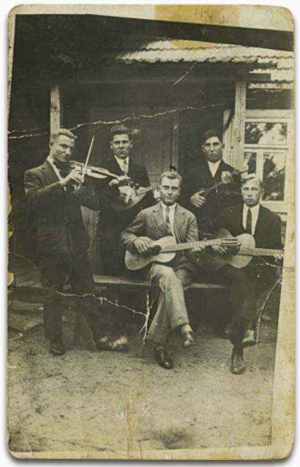 Gródek orchestra, from the collection of Halina Matejczuk